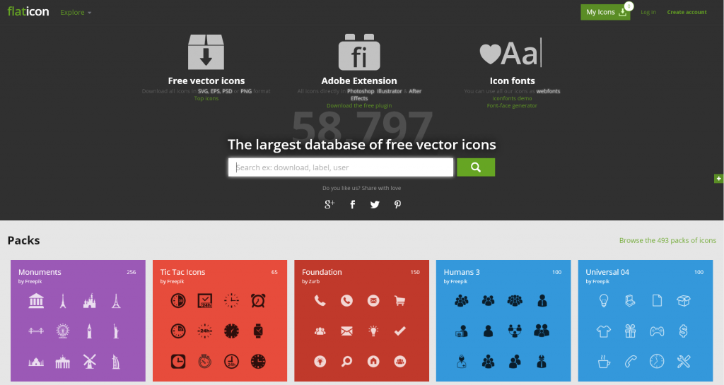 Free vector icons flaticons